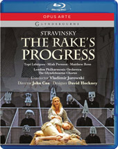 Stravinsky: The Rake's Progress / Jurowski, Lehtipuu, Persson, Rose [Blu-Ray]
