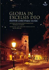 Gloria In Excelsis Deo - Festive Christmas Music by Handel, Tchaikovsky, Mendelssohn, Humperdinck, Gruber / Ruth Ziesak, soprano; Saxony Philharmonic Wind Orchestra [DVD]