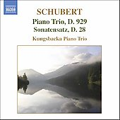 Schubert: Piano Trio Op 100, etc / Kungsbacka Piano Trio