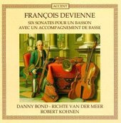 Devienne: Six Sonates pour un Basson / Bond, Kohnen, et al