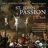 Bach: St.John Passion (Version 1725) / Carrington