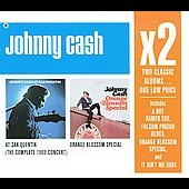 Johnny Cash: At San Quentin/Orange Blossom Special [Box]