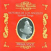 Prima Voce - Spanish Songs / Victoria de los Angeles
