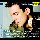 Brahms and his contemporaries Vol 2 - H. H. von Herzogenberg, R. Strauss, J. Brahms / Moser, Rivinius