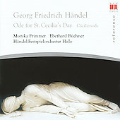 Reference - Handel: Ode for St. Cecilia's Day / Kluttog, Frimmer, et al