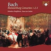 Bach: Brandenburg Concertos no 1, 2 & 3 / Belder, Baudet, Musica Amphion