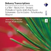 Debussy Transcriptions for Piano Duet or Piano Four Hands