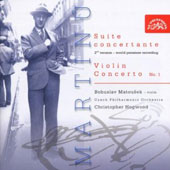 Martinu: Suite Concertante; Violin Concerto No. 1