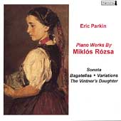 R&oacute;zsa: Piano Works / Eric Parkin