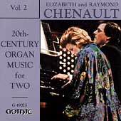 20th Century Organ Music for Two Vol 2 / Chenault