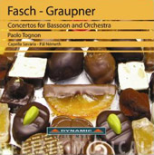 Fasch-Graupner: Concertos for Bassoon and Orchestra / Paolo Tognon, bssn