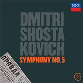Dmitri Shostakovich: Symphony No. 5 / Vladimir Ashkenazy, Royal PO