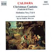 Caldara: Christmas Cantata, etc / Mallon, Aradia Baroque