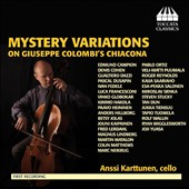 Mystery Variations on Giuseppe Colombi's Chiacona / Anssi Karttunen, cello
