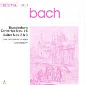 Bach: Brandenburg Concertos 1-6, etc / Harnoncourt