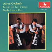 Copland: Music for Two Pianos / Nyaho-Garcia Duo