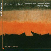 The Open Prairie - Copland: Music for Two Pianos