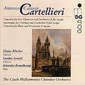 Cartellieri: Concerto for 2 Clarinets, etc / Prantl, et al
