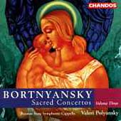 Bortnyansky: Sacred Concertos Vol 3 / Polyansky, et al