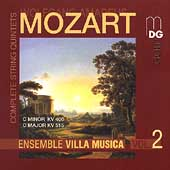 Mozart: String Quintets Vol 2 / Ensemble Villa Musica