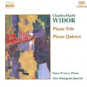 Widor: Piano Trio, Piano Quintet / Prunyi, New Budapest