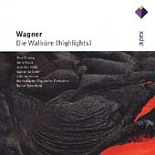 Wagner: Die Walküre (Highlights) / Barenboim, et al