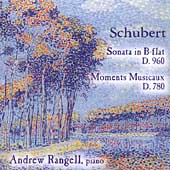 Schubert: Sonata in B-Flat Major / Andrew Rangell
