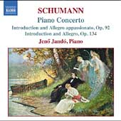 Schumann: Piano Concerto, etc / Jand&oacute;