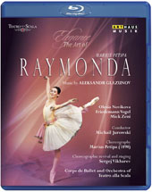 Elegance, The Art of Marius Petipa - Glazunov: Raymonda, ballet / Olesia Novikova, Friedemann Vogel, Mick Zeni. La Scala Ballet, Michail Jurowski (produced for TV, 2011) [Blu-ray]