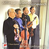 Shostakovich: Quartets no 3, 14, 15, Quintet / Juilliard SQ