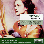 Vivaldi: Beatus Vir;  et al / Carmel Bach Festival