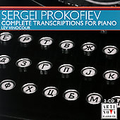 Prokofiev: Complete Transcriptions for Piano / Lev Vinocour