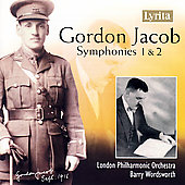 Jacob: Symphonies no 1 & 2 / Wordsworth, London PO