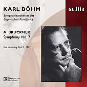 Bruckner: Symphony no 7 / B&#246;hm, Bavarian RSO