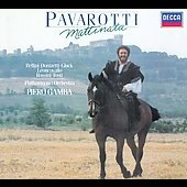 Pavarotti - Mattinata - Bellini, Rossini, etc / Gamba, et al