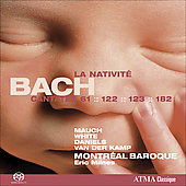 Bach: Cantatas pour la Nativit&eacute; / Milnes, Mauch, White, Daniels, Van der Kamp, et al