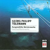 Telemann - Selected Masterworks / G&uuml;ttler, Schreier, et al