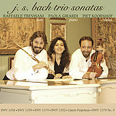 Bach: Trio Sonatas / Trevisani, Girardi, Koornhof