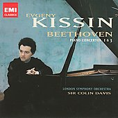 Beethoven: Piano Concertos 1 & 3 / Evgeny Kissin