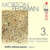 Feldman: Late Piano Works Vol. 3