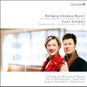 Mozart: Clarinet Concerto K. 622 / Gaudenz
