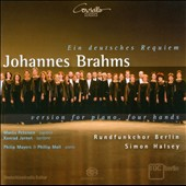 Brahms: Ein Deutsches Requiem - for Piano, Four Hands