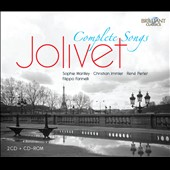 Andr&eacute; Jolivet: Complete Songs / Marilley, Perler, Immler