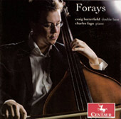Forays / Craig Butterfield, double bass; Charles Fugo, piano