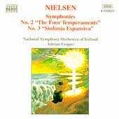 Nielsen: Symphonies 2 & 3 / Leaper, National SO of Ireland