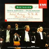 Beethoven: Triple Concerto, etc / Perlman, Ma, Barenboim