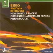 Berio: Sinfonia, Eindrücke / Boulez, New Swingle Singers