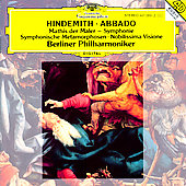 Hindemith: Mathis der Maler, Symphonic Metamorphoses /Abbado