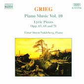 Grieg: Piano Music Vol 10 / Einar Steen-Nokleberg