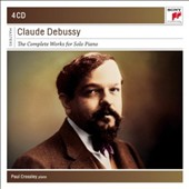 Debussy: The Complete Works for Solo Piano / Paul Crossley, piano [4 CDs]
